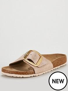 birkenstock-narrow-fit-madrid-big-buckle-flat-sandals-metallic
