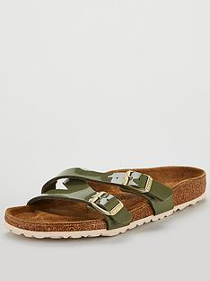 c7f2197bd0e Birkenstock Yao Balance Buckle Flat Sandals - Khaki