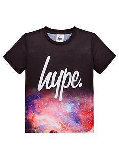 hype-boys-space-fade-short-sleeve-t-shirt-multi
