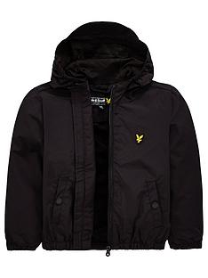 lyle-scott-boys-classic-hooded-wind-cheater-jacket-black