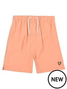 lyle-scott-boys-classic-swim-shorts-orange