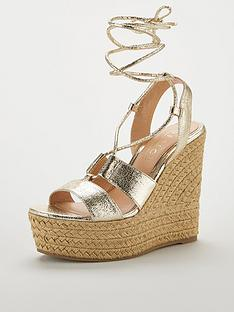 5f1f94ee313 OFFICE Hula Hula Platform Wedge Sandal