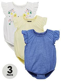 mini-v-by-very-baby-3-pack-botanical-garden-frill-sleeve-bodysuits-multi