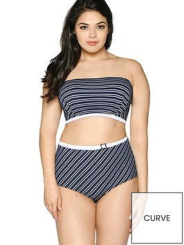 curvy-kate-sailor-girl-bandeau-bikini-top-navy