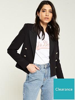 v-by-very-cropped-double-breast-blazer-black