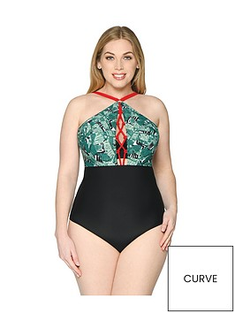 curvy-kate-paradise-palm-plunge-swimsuit