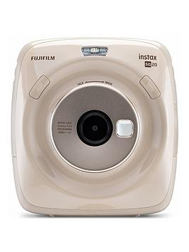 fujifilm-instax-instax-square-sq20-hybrid-instant-camera-with-optional-10-or-30-pack-of-paper-beige