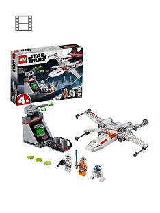 lego-star-wars-75235-x-wing-starfightertradenbsptrench-run