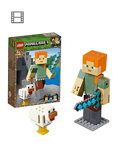 lego-minecraft-21149-alex-bigfig-with-chicken
