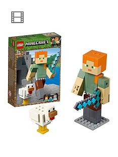 lego-minecraft-alex-bigfig-with-chicken