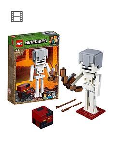 lego-minecraft-21150nbspminecrafttrade-bigfig-skeleton-with-magma-cube