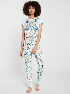 487c30a19ebe B By Ted Baker Highgrove Jersey Pyjama Pant - Green