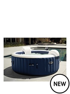 intex-intex-purespa-plus-4-person-item-includes-2-x-contoured-headrests-multi-colored-led-light-20-more-bubble-jets-than-the-octagonal-spa
