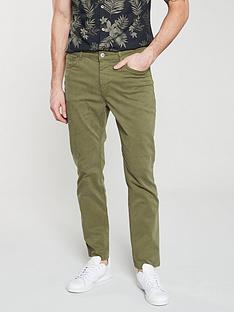 3960164937a2c3 V by Very Five Pocket Trouser - Khaki