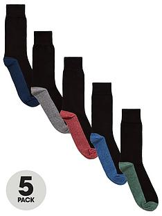 v-by-very-5-pk-heel-toe-socks