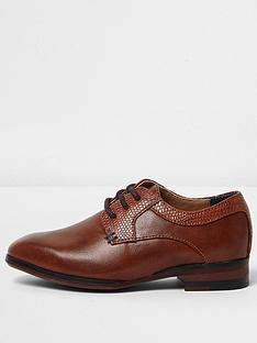 river-island-mini-mini-boys-tan-brown-pointed-brogue-shoes