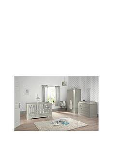 mamas-papas-mamas-papas-oxford-cotbed-dresser-wardorbe-grey