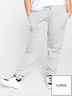 v-by-very-curve-jersey-cuffed-jogger-grey-marl