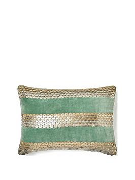 monsoon-velvet-disc-cushion