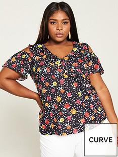 v-by-very-curve-cold-shoulder-viscose-blouse-floral-print
