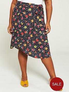 v-by-very-curve-printed-wrap-midi-skirt-floral