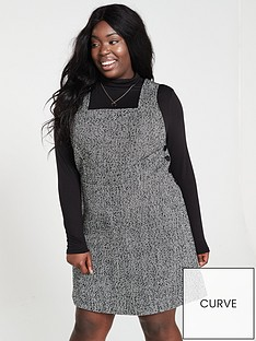 v-by-very-curve-tweed-pinafore-dress-monochrome