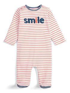 mamas-papas-baby-girls-smile-sleepsuit-stripe