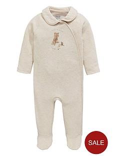 mamas-papas-baby-unisex-bear-collar-sleepsuit
