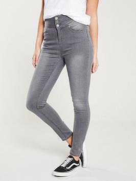 v-by-very-macy-high-waisted-skinny-jean-grey