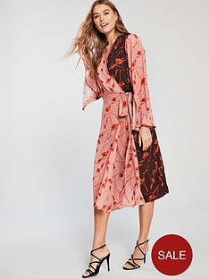 lost-ink-mixed-floral-print-wrap-midi-dress-pinknbsp