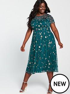 monsoon-curve-binita-embellished-midi-dress-green