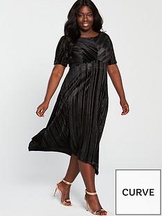 monsoon-curve-martha-stripe-velvet-midi-dress