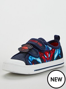 spiderman-boys-plimsoll