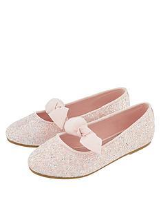 monsoon-girls-gemma-glitter-bow-ballerina-shoe