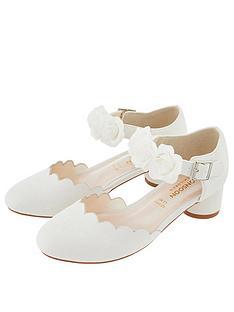 35d64c6d6 Monsoon Girls Matilda Corsage 2 Part Shoe