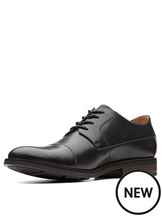clarks-clarks-becken-cap-leather-lace-up-shoe