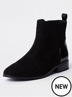 river-island-ankle-chelsea-boot-black