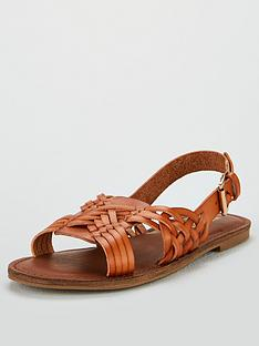 michelle-keegan-heather-huarache-slingback-flat-sandals-tan
