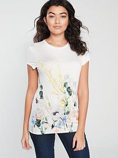 95eae721f Ted Baker Bobiiee Fitted Top - White