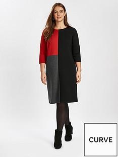 evans-colourblock-dress
