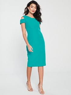 b92cec363773 Ted Baker Yandal Cut Out Shoulder Bodycon Dress - Turquoise