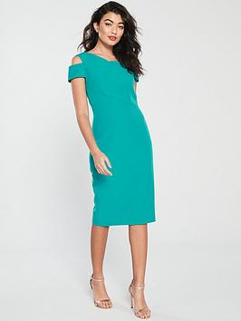 42f67e64709e Ted Baker Yandal Cut Out Shoulder Bodycon Dress - Turquoise ...