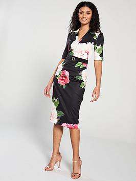 bf9887ea0 Ted Baker Ted Baker Gilanno Magnificent V-neck Bodycon Dress ...