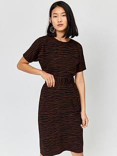 warehouse-zebra-stripe-dress