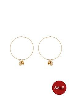 michelle-keegan-shell-hooped-earrings-goldnbsp