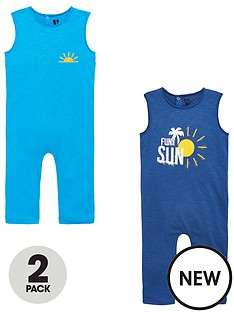 mini-v-by-very-boys-2-pack-sun-all-in-ones-blue