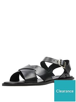 clarks-willow-gild-flat-sandal--nbspblack