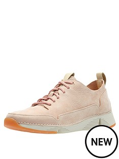 clarks-tri-spark-trainers-light-pink