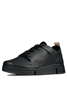 clarks-tri-turn-trainers-black