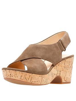 clarks-maritsa-lara-wedge-sandals-olive-suede
